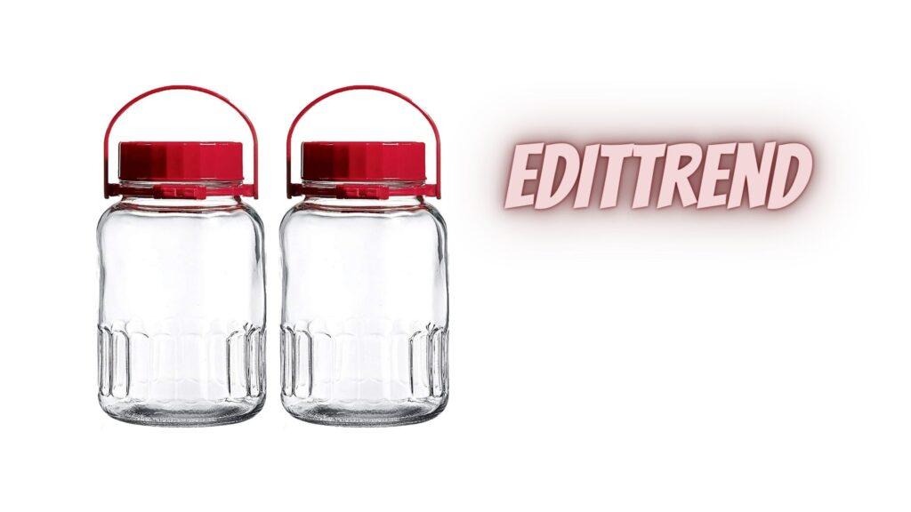 1 Gallon Glass Jar With Airtight Lid