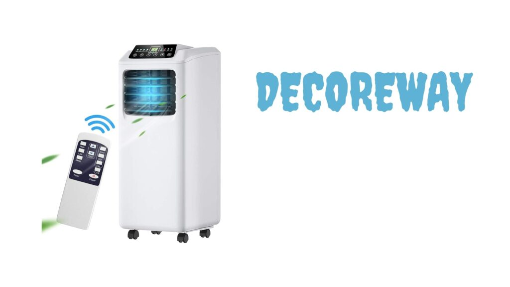 Best Portable Air Conditioner 8000 BTU with Remote Control