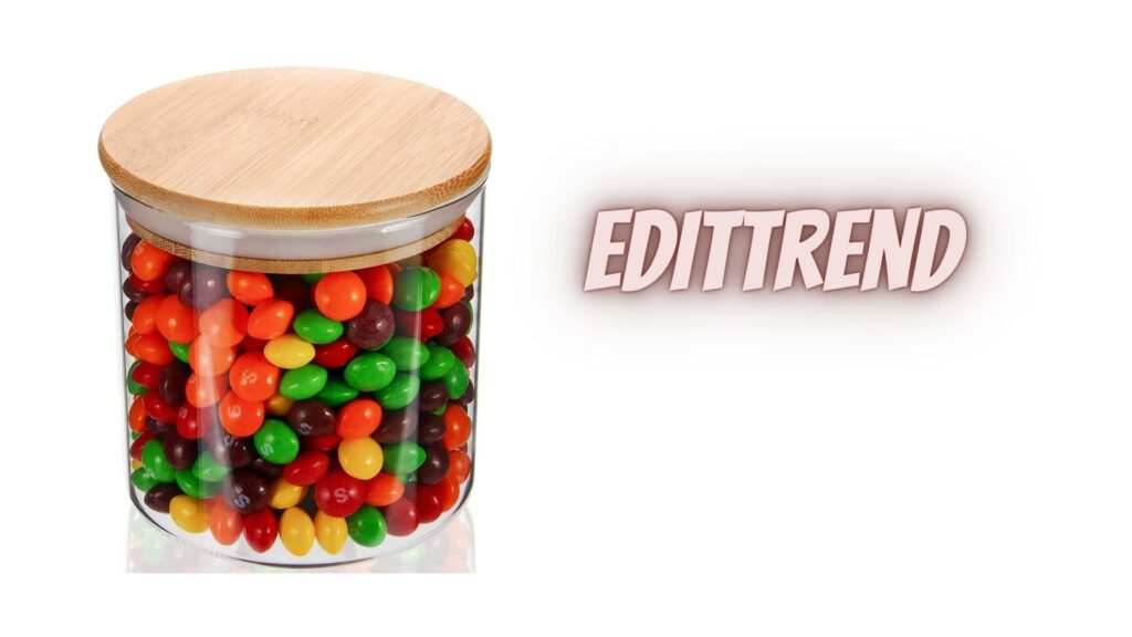 Glass Jar For Serving Candy