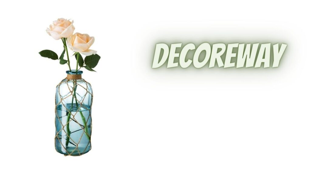 Flower Vase with Creative Rope Net