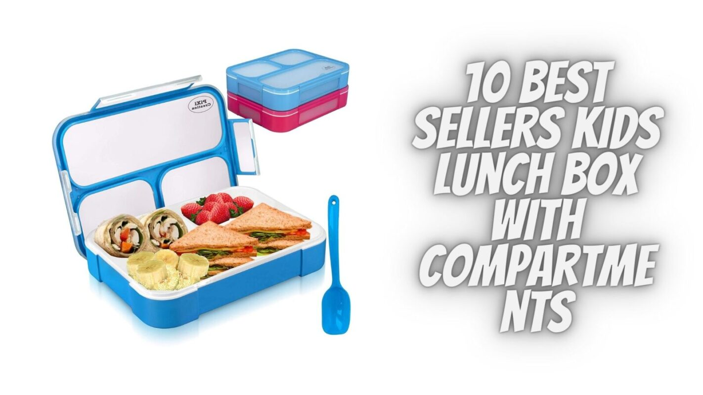 Kids Lunch Box With Compartments