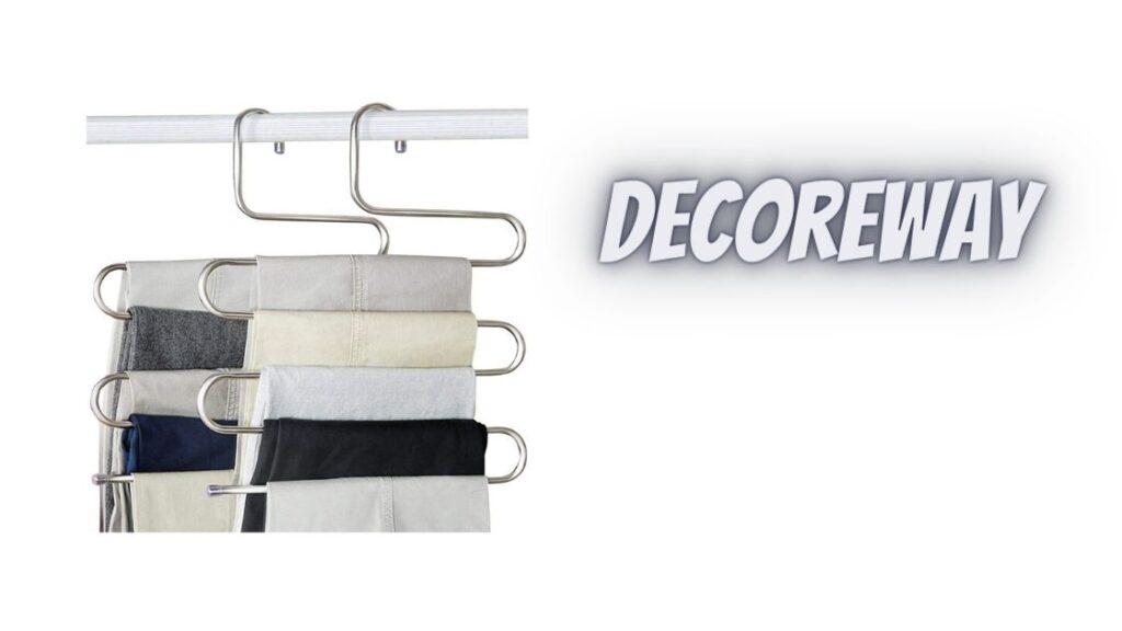 Silver Pants Hangers Closet