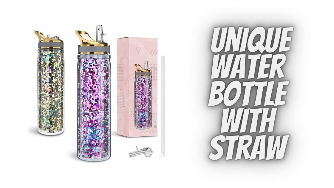 Unique Water Bottle With Straw