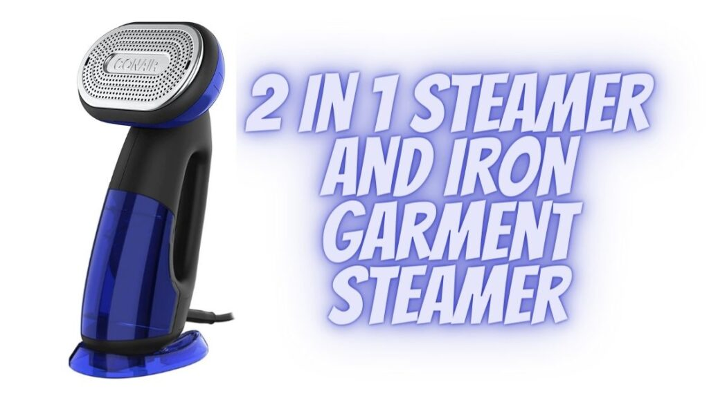 2 In 1 Steamer And Iron Garment Steamer